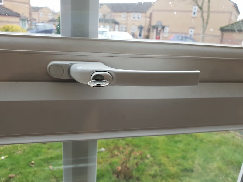 New uPVC window locks fitted in CF11 by City Locksmiths Cardiff