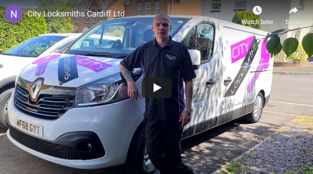 city locksmith in cardiff video