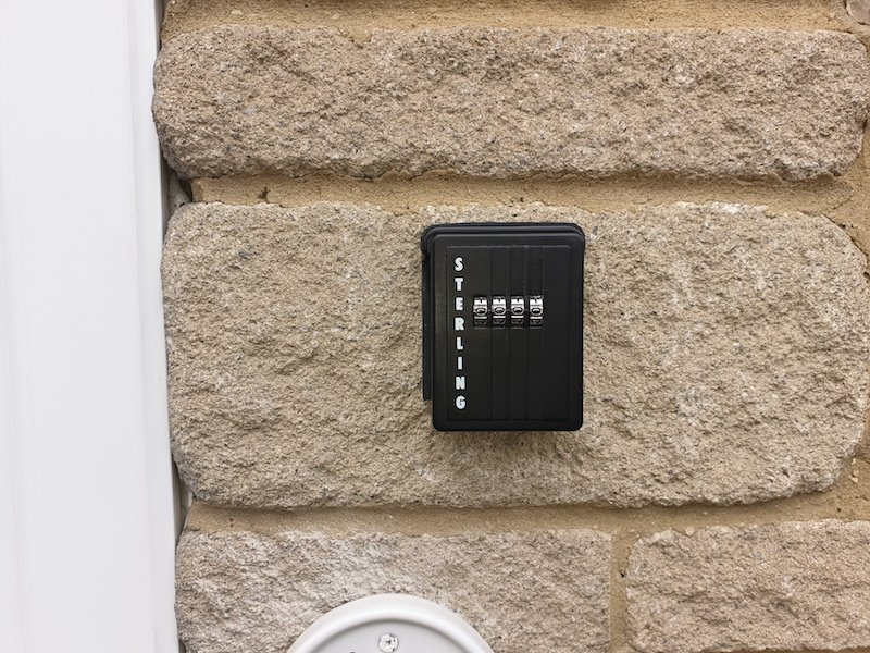 Key safe installation by City Locksmiths Cardiff