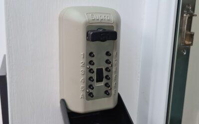 New Key Safe Installation Barry